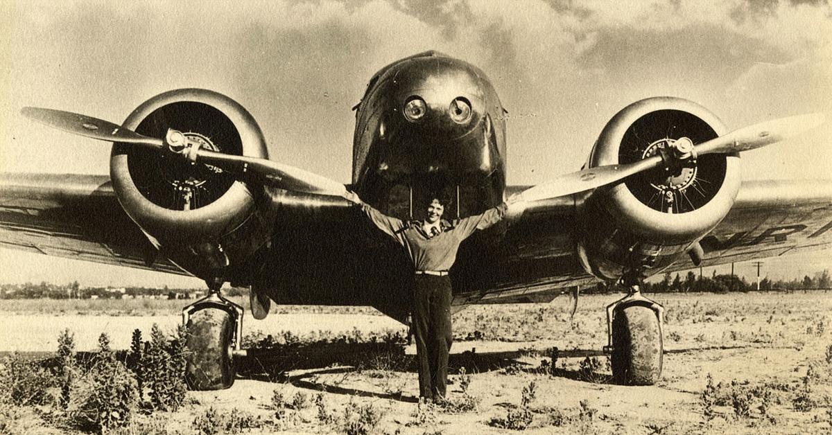 The Girl Who Dreamed Of Flying: Amelia Earthart
