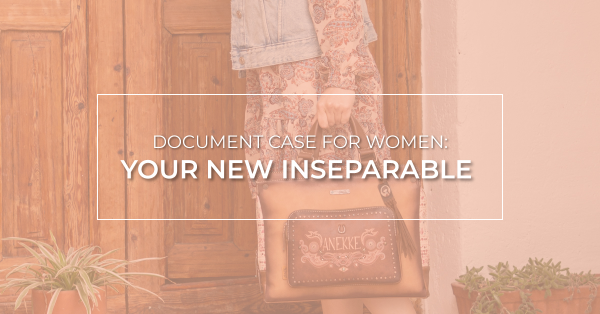Document Case For Women: Your New Inseparable.