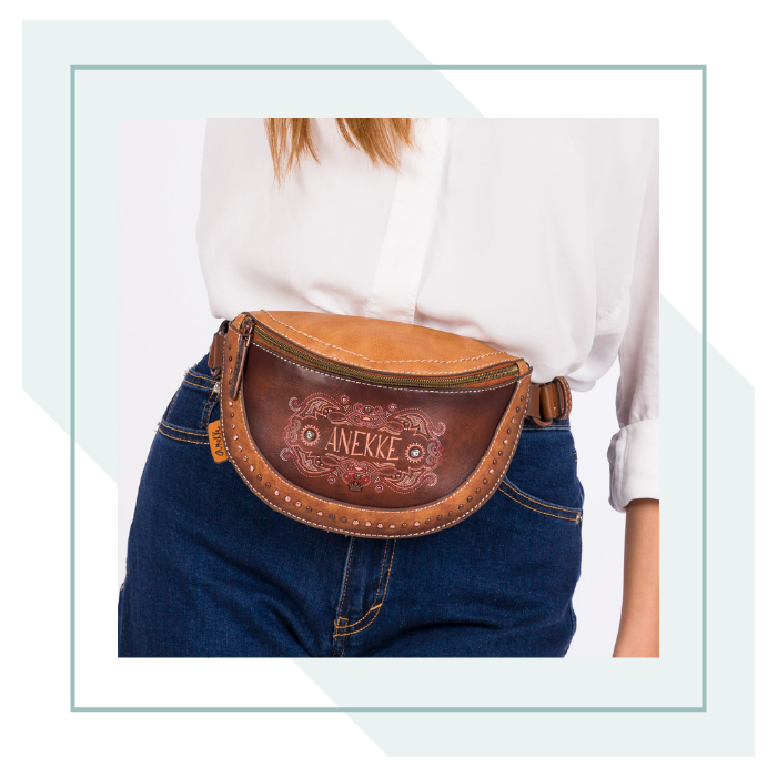 Western bumbag with studs